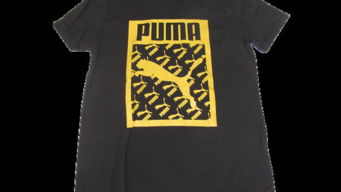 Camiseta Malha Peruana Puma Preta