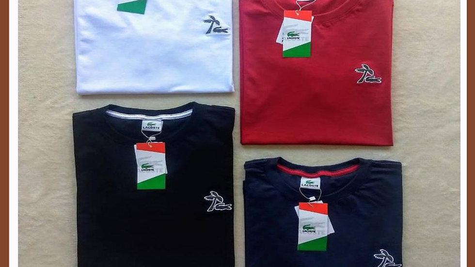 Camiseta Griffe  Lacoste cores variadas