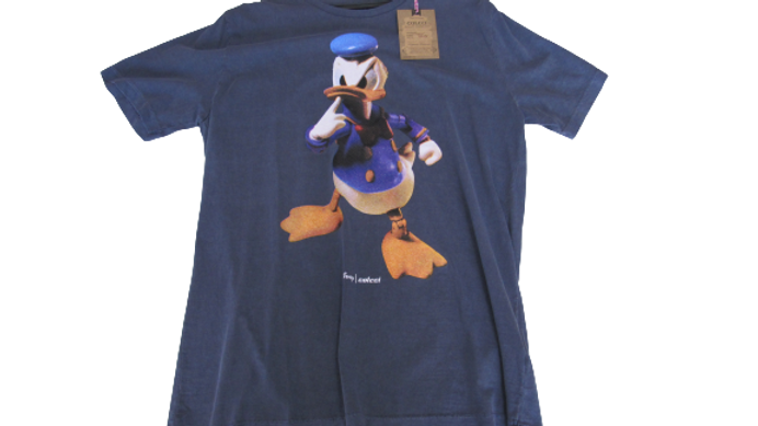 Camiseta Malha Peruana Colcci Pato Donald
