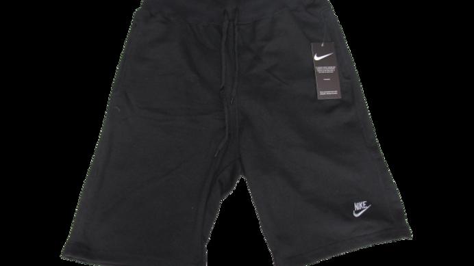 Bermuda de Moletom Nike Preta