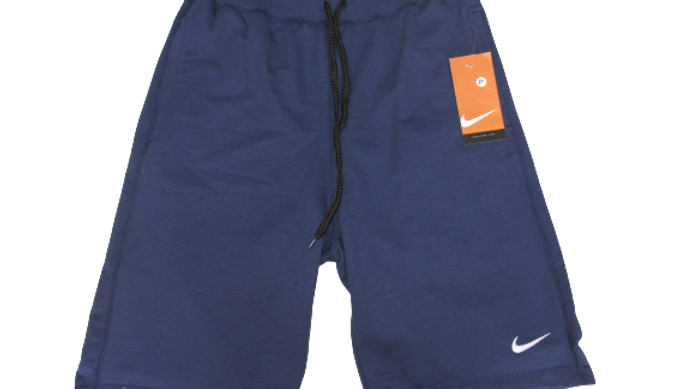 Bermuda de Moletom Nike Azul
