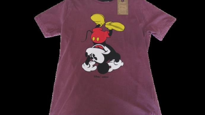 Camiseta Malha Peruana Colcci Mickey