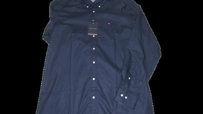 Camisa Social Tommy Azul