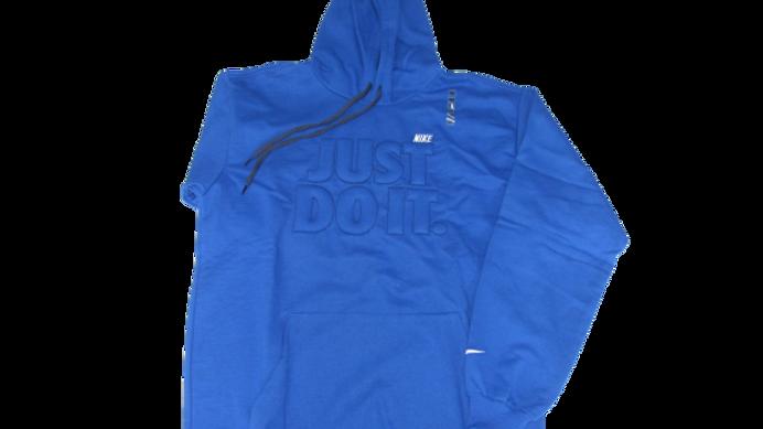 Moletom Canguru Importado Nike Azul