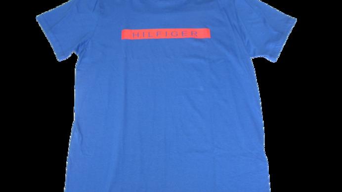 Camiseta Malha Peruana Tommy Azul