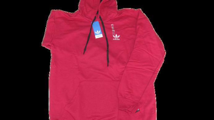 Moletom Canguru Importado Adidas Vermelho