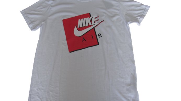 Camiseta Malha Peruana Nike Air Branca
