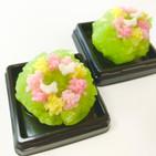 季節の上生菓子「花かんむり」