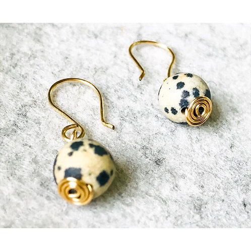 Dalmatian Spirit Earrings