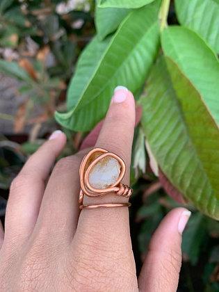 Citrine Adjustable Ring