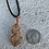Thumbnail: Etched Smoky Quartz Necklace