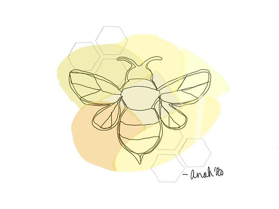 Bee 001 (print)