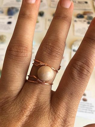 Sunstone Adjustable Ring