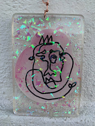 """Rock your Crown"" (Hangable Art)"