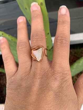 Opal Adjustable Ring 03