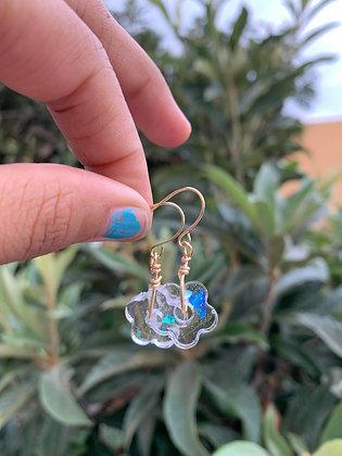True Beauty Opalite Resin Earrings