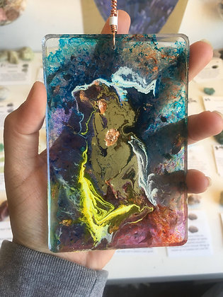 Alcohol Ink & Resin