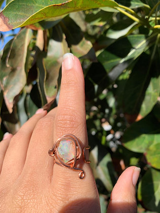 Opal Adjustable Ring 05