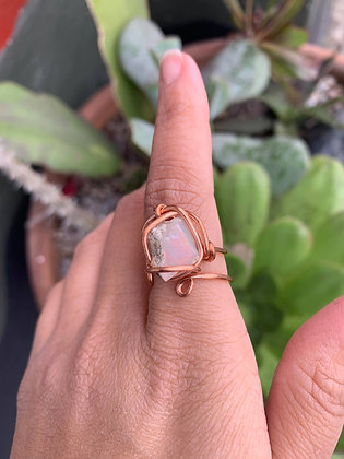 Opal Adjustable Ring 02