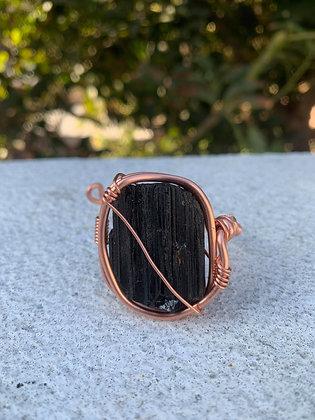 Black Tourmaline Adjustable Bracelet