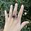 Thumbnail: Tibetan Quartz Adjustable Ring
