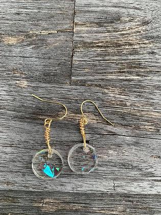 Wholeness Opalite Resin Earrings