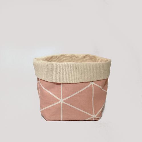 Stoffkörbchen (rosa) - M