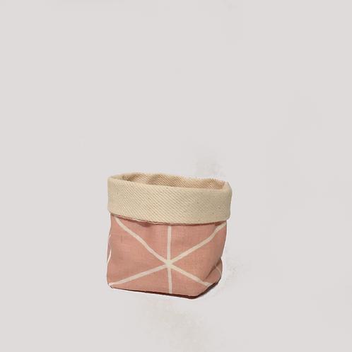 Stoffkörbchen (rosa) - S
