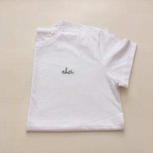 """Statement T-Shirt für Männer - """"ahoi"""" - 100% Bio-Baumwolle"""