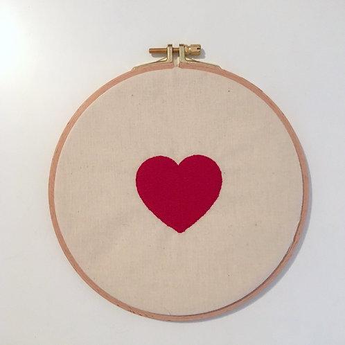 Stickrahmen - Großes Herz