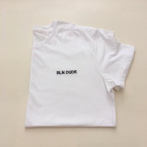 """Statement T-Shirt für Männer- """"BLN DUDE""""- 100% Bio-Baumwolle"""