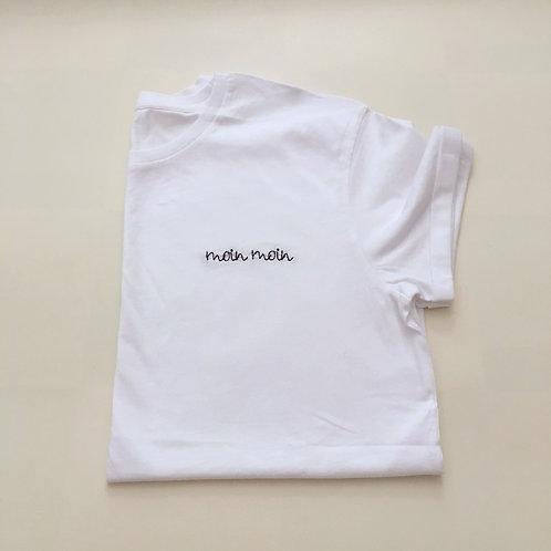 """Statement T-Shirt für Männer - """"moin moin"""" - 100% Bio-Baumwolle"""