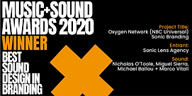 BEST SOUND DESIGN - OXYGEN NETWORK simpl