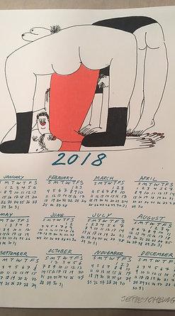 Jeffrey Cheung 2018 Calendar