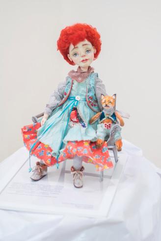 Выставка авторской куклы в галерее Новое Пространство (г.Самара)