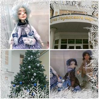 Новогодняя выставка в Думе г.о. Самара в рамках Клуба самарских рукодельниц