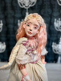 Розовый ангел