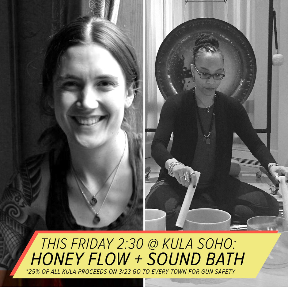 A YUMMY Honey Flow + Sound Meditation.