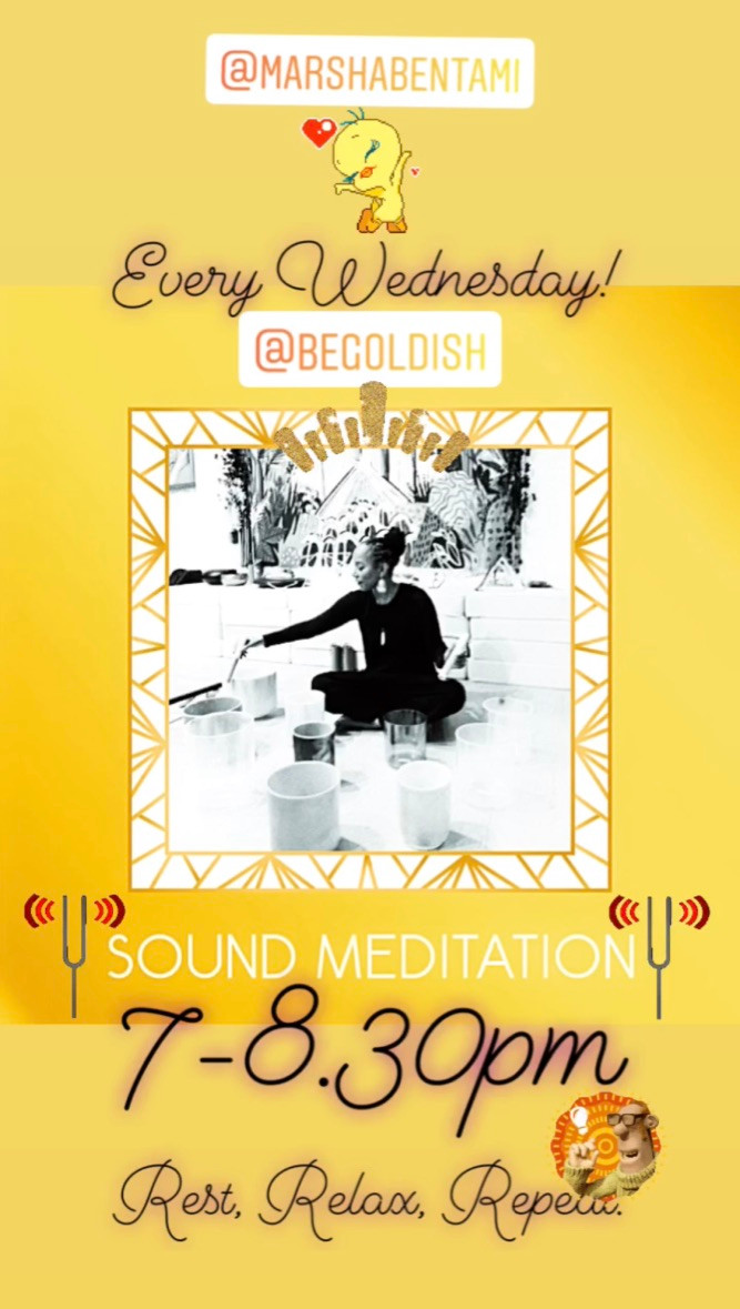 Weekly - Inner Sonic Sound Meditation.