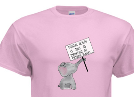 Pink Mental Health T-Shirt