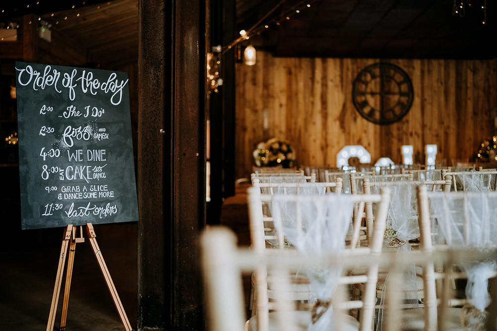 Tip for achieving the perfect wedding order of service schedule