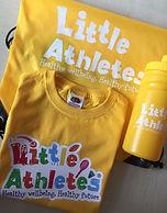 Little Atheletes Yellow T-Shirt Bundle.j