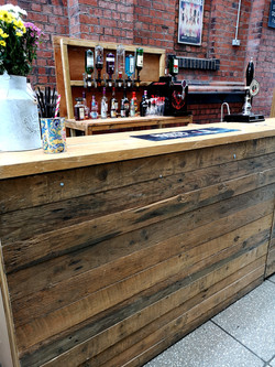 Cestrian Bars East - Rustic Mobile Bar 1