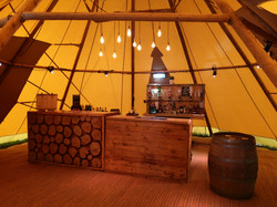 Cestrian Bars East - Mobile Tipi Bar 1