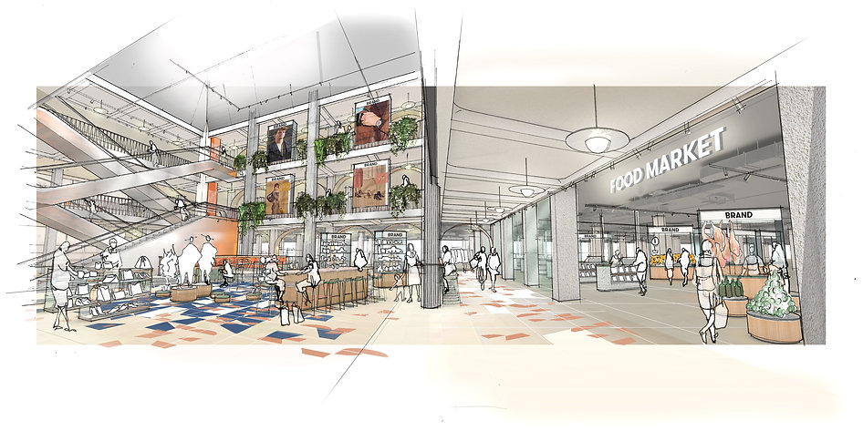 El Corte Ingles FITCH Design 3D Drawing