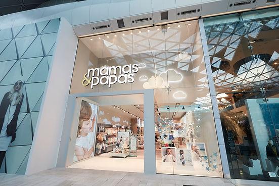 Shopfront Mamas and Papas Design Dazliel & Pow
