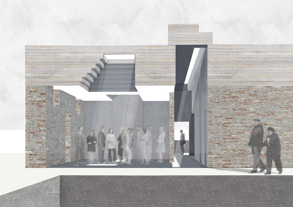 Waiting Room Photoshop Cinema 4D Vectorworks 3D Final Project NTU