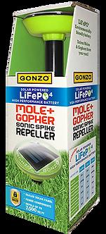 GONZO® 5014 LiFePO4 Solar Sonic Spike Repeller