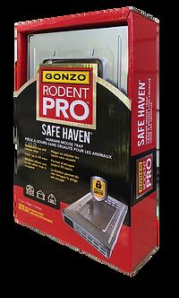 GONZO®RodentPro® SafeHaven® Live Multi-Catch Mouse Trap