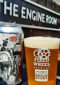 Poggio Ice Cream Pale Ale from the Fixed Wheel Brewery in Blackheath